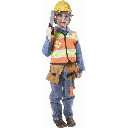 Dress Up America Construction Worker Children's Costume