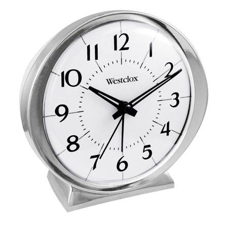 Tone Clock Circuit - 11611QA BABYBEN 1964 QA ALARM CLOCK SILVER TONE