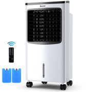 Costway Portable Air Conditioner Cooler Fan Filter Humidify Anion W/ Remote Control New