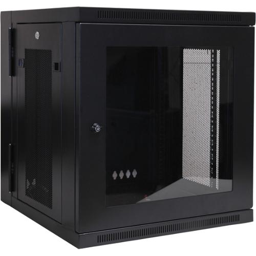 "Tripp Lite SRW12USG Wall mount Rack Enclosure Server Cabinet w/ Plexiglass Door - 19"" 12U Wall Mounted"