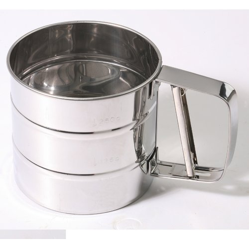 Culinary Edge 3 Cup Stainless Steel Flour Sifter by Culinary Edge