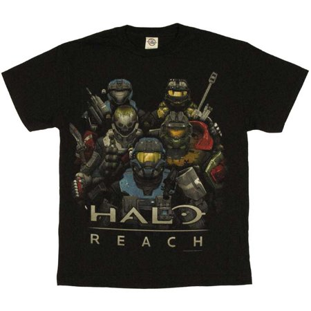 Halo Reach Group T Shirt (Halo Odst Shirt)