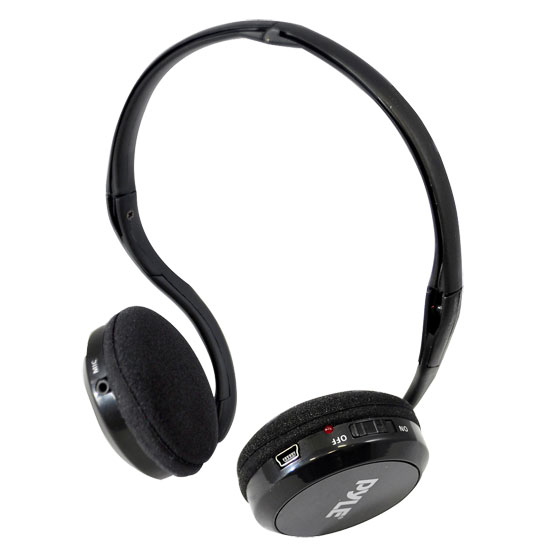 Pylehome Ppcm20 Headset - Stereo - Wired/wireless - 40 Ft - 20 Hz - 20 Khz - Behind-the-neck - Binaural - 80 Db Snr - Supra-aural (ppcm20)