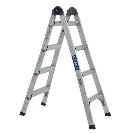 Louisville Ladder 8 Ft Fiberglass Step Ladder Type I
