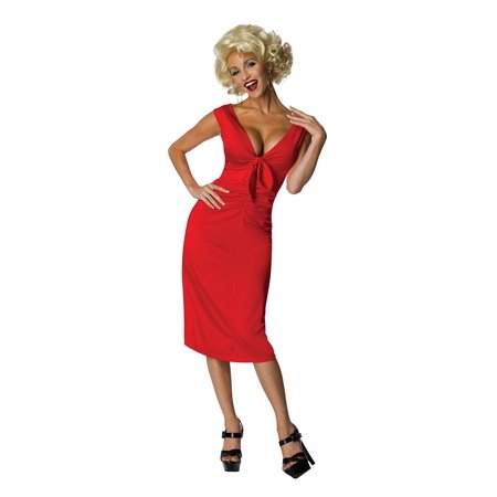 Secret Wishes Womens Marilyn Monroe Niagara Dress, Red, Medium](Marilyn Monroe Dresses)