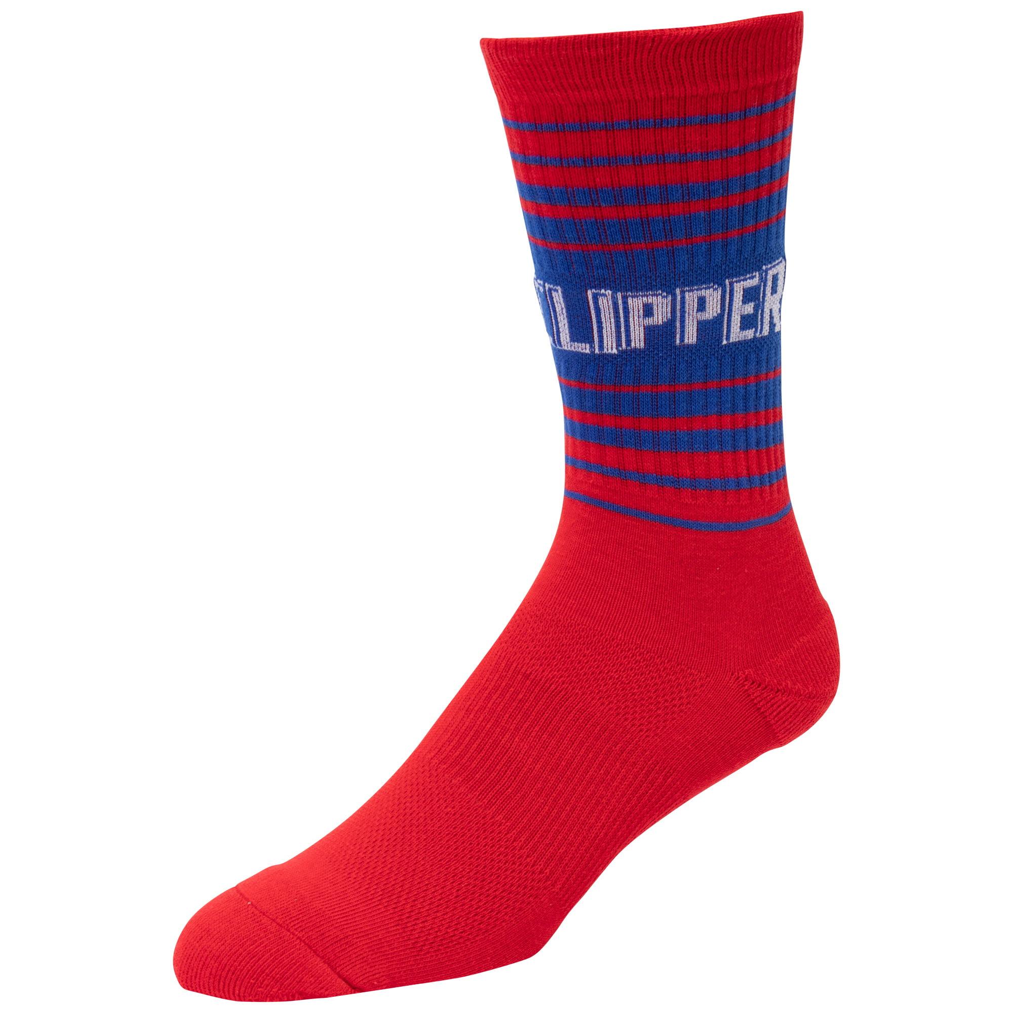 LA Clippers Horizon Crew Socks - L