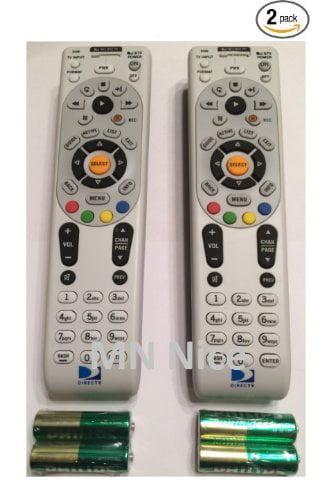 RC66 2 PACK Universal IR Remote Control Replaces Remote RC65X, RC65, RC65XMP, RC21, RC24, RC30,RC64 2PK By DIRECTV by DirecTV