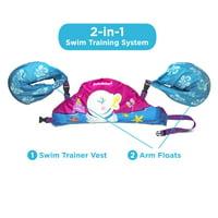Deluxe 3D Tot Swimmer Swan Print, 30-50 Lbs.