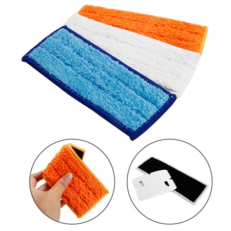 Choifoo 3X Washable Damp Wet Dry Mopping Pads For Irobot Braava Jet 240 241 Cleaner  Mz