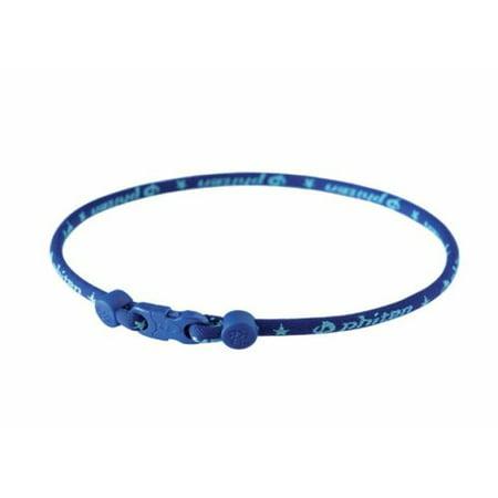 Phiten Star Necklace, Navy, 18