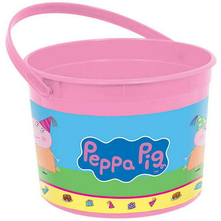 Peppa Pig Favor Container - Party Supplies - Peppa Pig Birthday Supplies