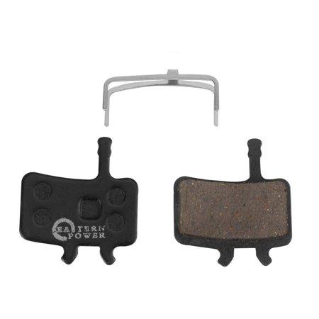 EASTERN POWER 2 Pairs Bicycle Disc Brake Pads for Sram Avid BB7 Juicy 3 5 7, Resin/Semi-Metallic/Sintered Metal Resin Organic
