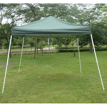 outsunny 10 39 x 10 39 slant leg easy pop up canopy party tent