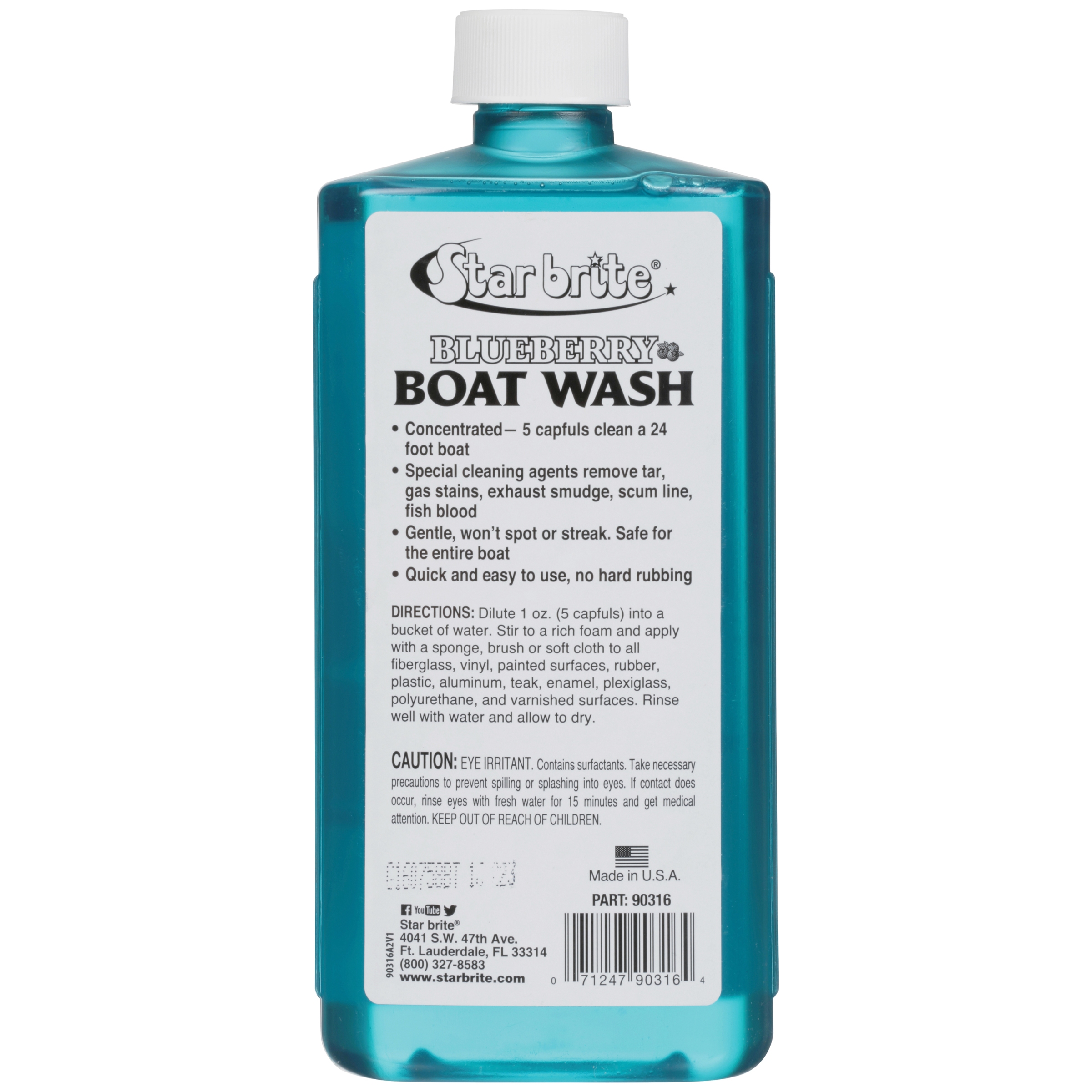 Star Brite Blueberry Boat Wash, 16 oz