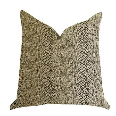 Plutus PBRA1384-2026-DP Shimmer in Gold Metallic Luxury Throw Pillow, 20 x 26 in. Standard - image 1 de 3