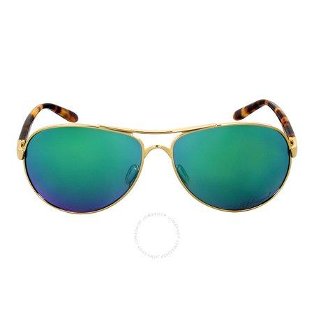 Oakley FeedBack Jade Irid Polar Ladies Sunglasses OO4079-407920-59