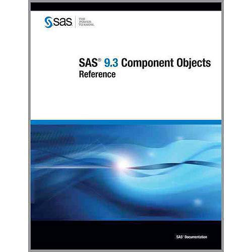 SAS 9.3 Component Objects: Reference