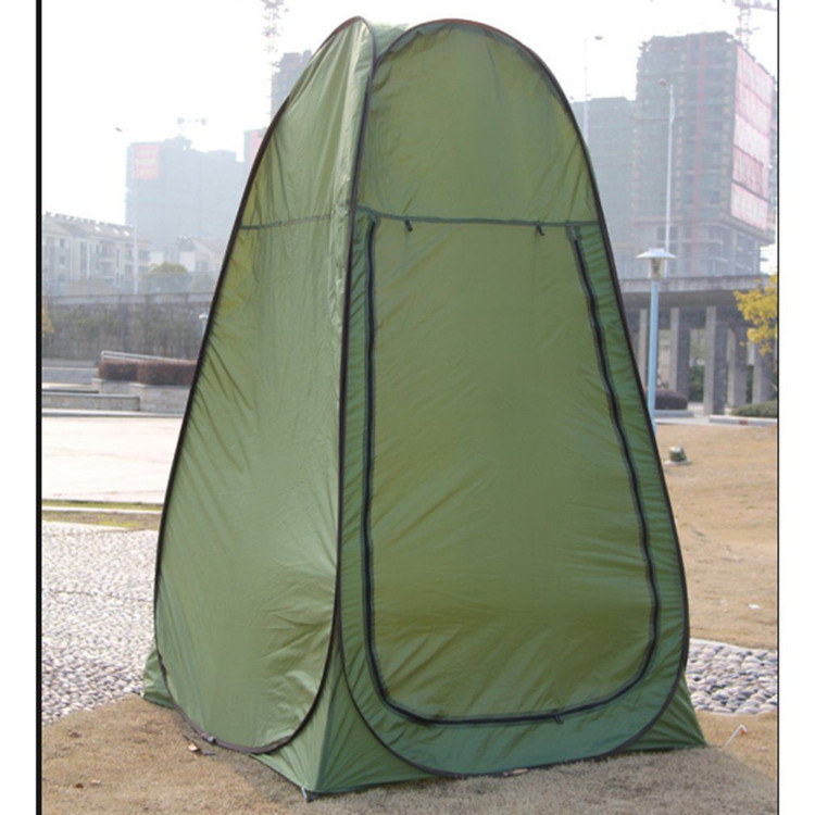 Upgraded Portable Outdoor Outdoor Tent Tent C&ing Shower Bathroom Privacy Toilet Changing Room Shelter Single Moving Folding Tents ArmyGreen - Walmart.com & Upgraded Portable Outdoor Outdoor Tent Tent Camping Shower Bathroom ...