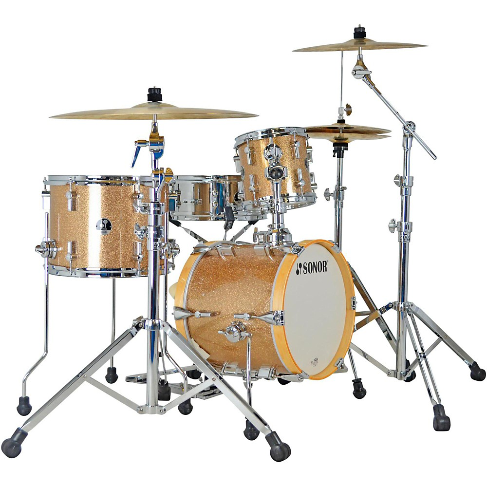 Sonor Martini 4-Piece Shell Pack Champagne Galaxy Sparkle by Sonor
