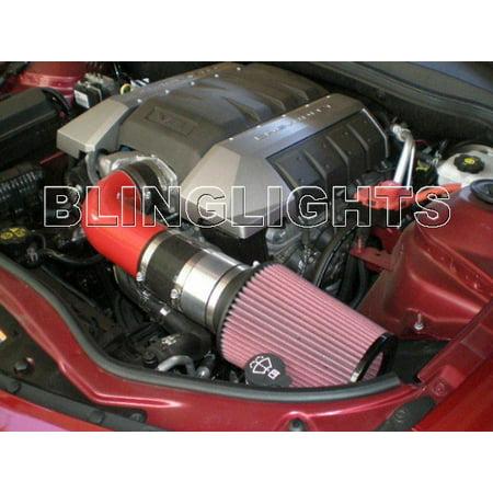 2010 2011 2012 Chevrolet Chevy Camaro SS 6.2L V8 Carbon Fiber Ram Air Engine Intake Kit 1SS