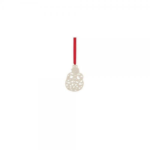 LENOX  China Charm Ornament  Pierced Wreath  NEW
