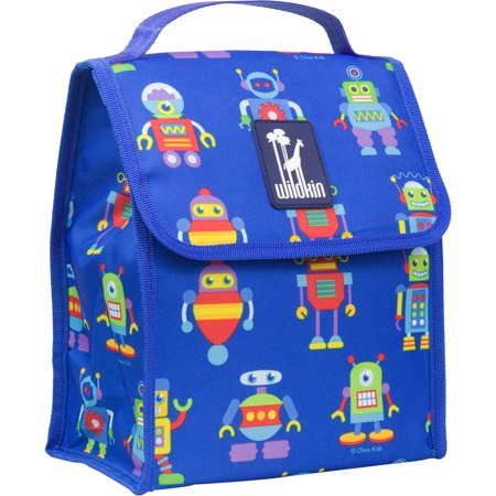 Olive Kids Robots Lunch Bag