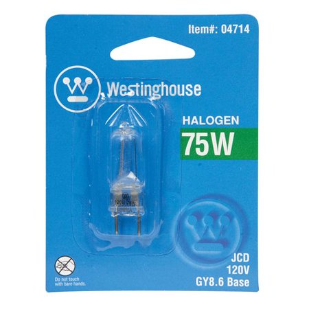 Westinghouse Lighting 75W GY8.6 Dimmable Halogen Edison Capsule Light (Capsule Light Bulb)