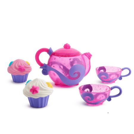 Munchkin Bath Tea and Cupcake (Best Munchkin Baby Bath Toys)