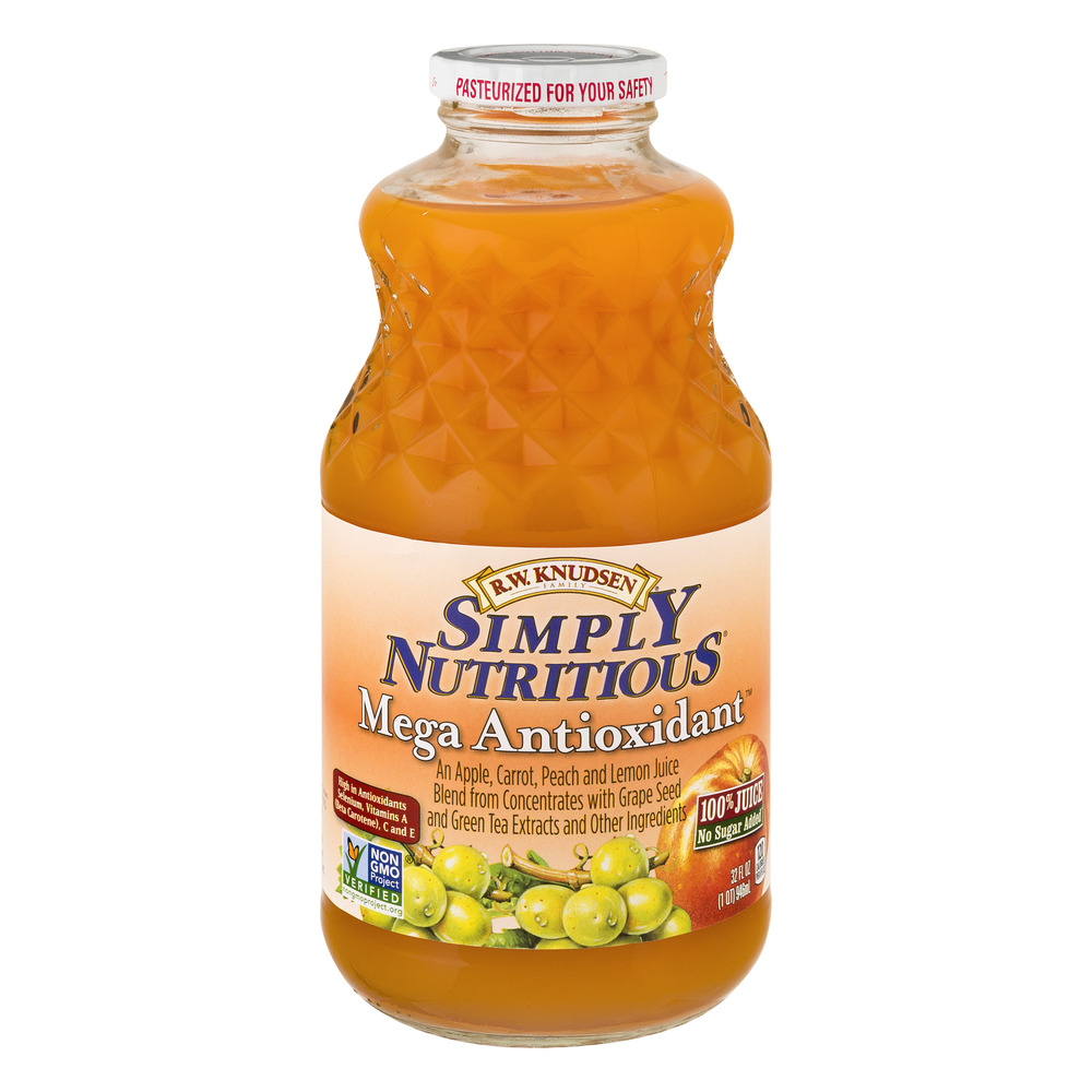 R.W. Knudsen Simply Nutritious Mega Antioxidant 100% Juice, 32.0 FL OZ