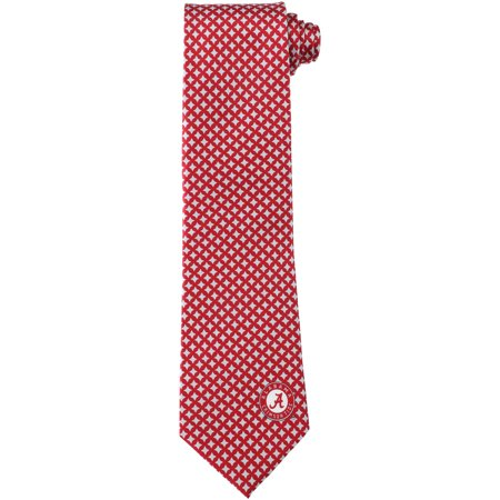 Alabama Crimson Tide Diamante Print Silk Tie - No Size