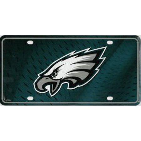 Philadelphia Eagles Metal License Plate