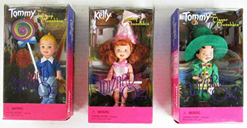 Barbie The Wizard of Oz 1999 Tommy as Lollipop Munchkin