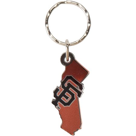 San Francisco Giants Metallic State Shape Keychain - No Size San Francisco Giants Keychain