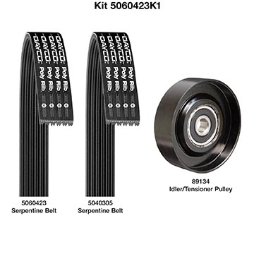 Serpentine Belt Drive Component Kit D60960K1 Dayco