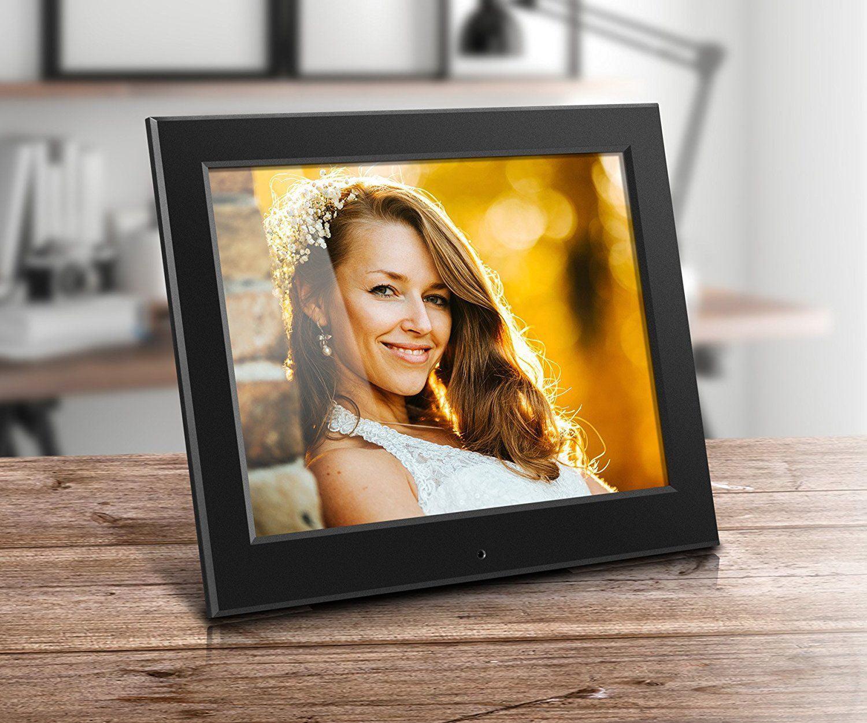 Aluratek 8 Slim Digital Photo Frame With Auto Slideshow 1024 X