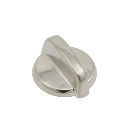 6 Pack Replacement Control Knob WB03T10284 Stainless Steel Finish for General Electric JBP84SM1SS Electric Range - image 1 of 4
