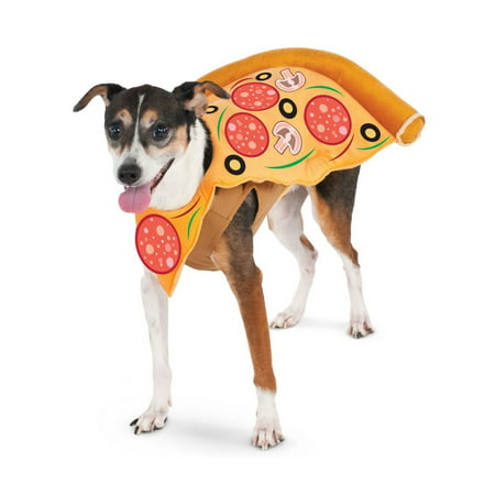 Halloween Pizza Slice Pet Costume - Pizza Costumes