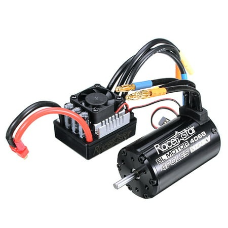 Racerstar 4068 Brushless Waterproof Sensorless Motor 2050KV 120A ESC For 1/8 Cars RC Car -