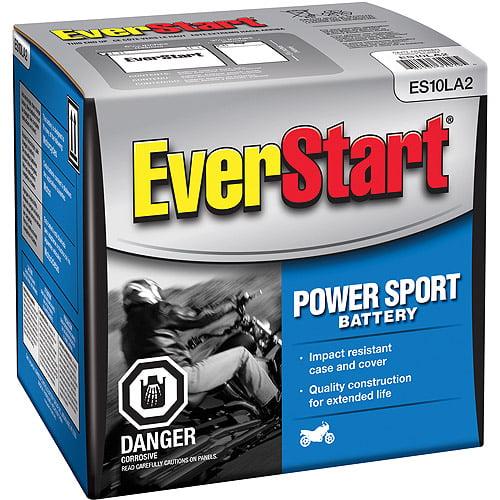 EverStart PowerSport Battery, Group Size ES10LA2