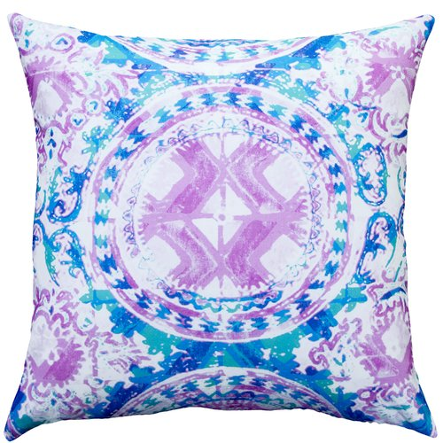 TheWatsonShop Worldly Cotton Throw Pillow