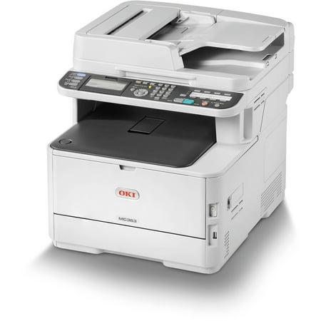 Okidata MC363dn Multifunction Color Laser LED Printer