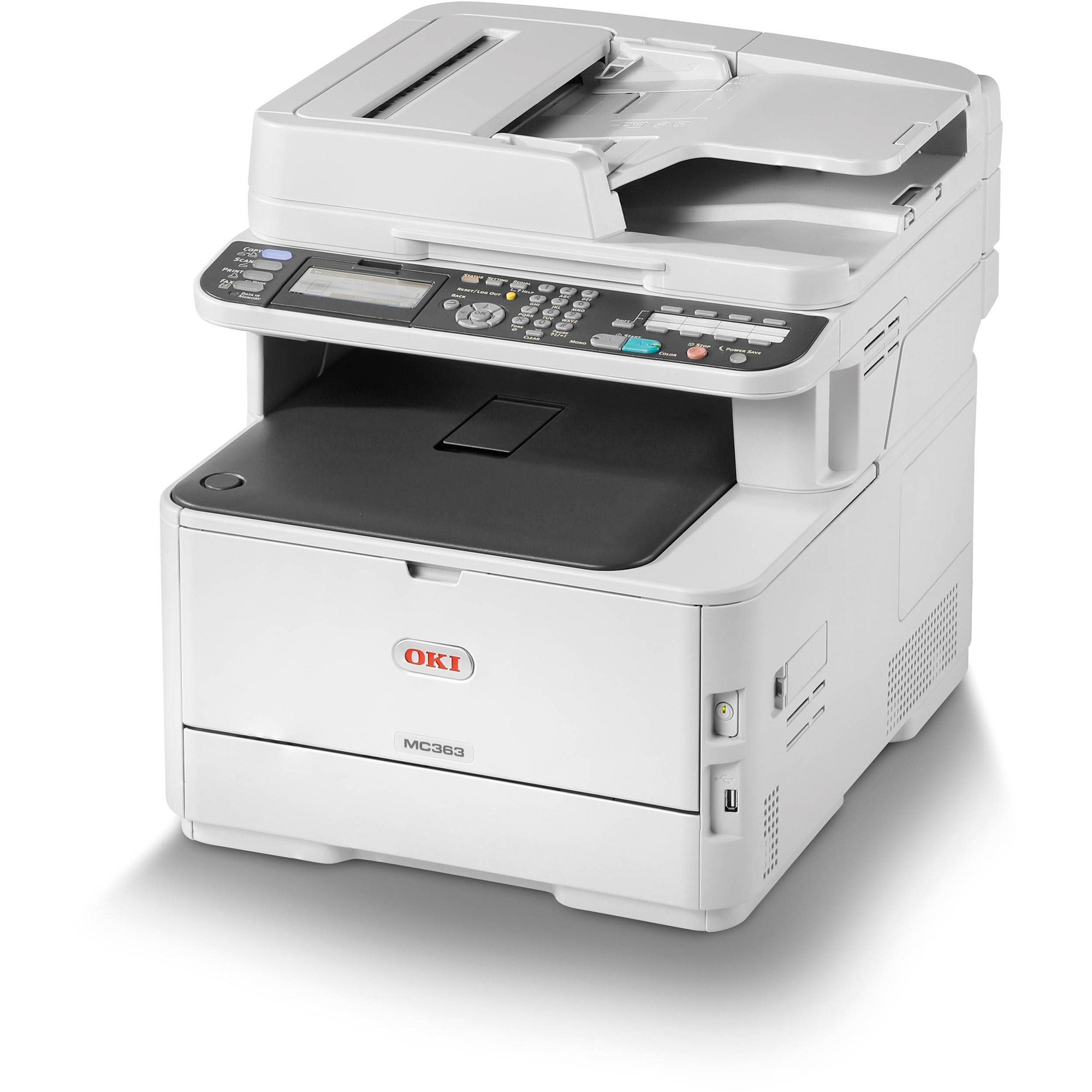Okidata MC363dn Multifunction Color Laser LED Printer (62447601)