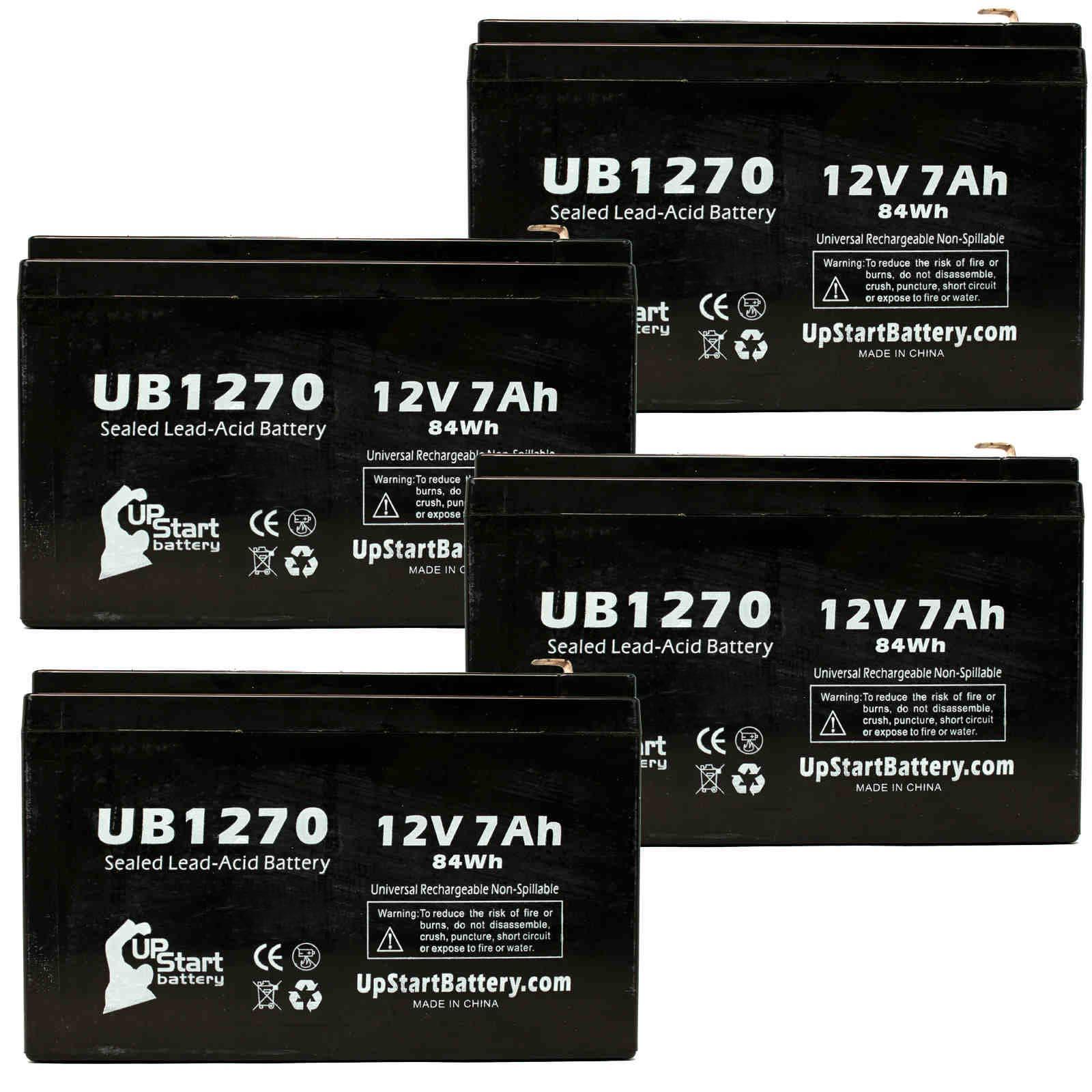 UpStart Battery 4x Pack - Panasonic BT2007P Battery Repla...