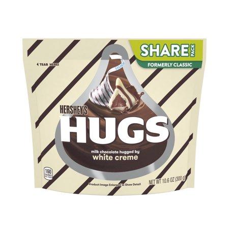 Hersheys Hugs Chocolate Candy - 10.6oz