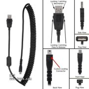 Philips SpeechMike Premium and Touch Replacement Tangle Free USB Curly Cord Cable