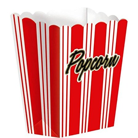 Large Popcorn Boxes (1 X Large Popcorn Boxes (8 ct) [Toy])