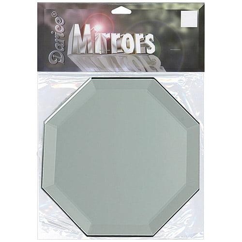 "Octagon Glass Mirror W/bevel Edge 3""-1/p"