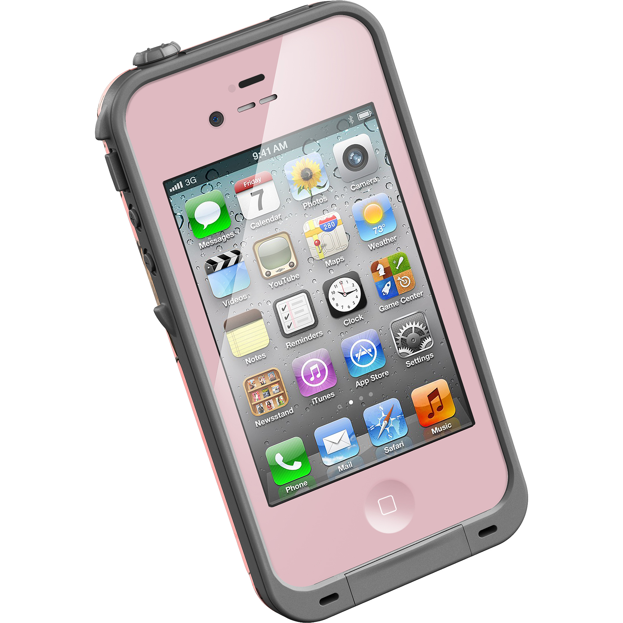 iphone 4s lifeproof case iphone 4 4s lifeproof fre series realtree ap pink 2803