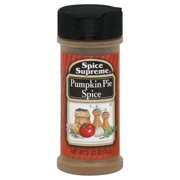 Spice Supreme Pumpkin Pie Spice, 2.5 OZ (Pack of 12)