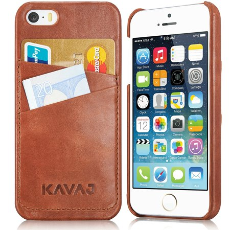 Kavaj iphone se5s5 case cover leather tokyo cognac brown genuine kavaj iphone se5s5 case cover leather tokyo cognac brown genuine leather back cover with business card holder colourmoves